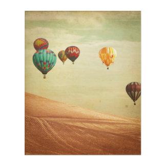 Art Mural En Acrylique Ballons à air chauds dans le ciel