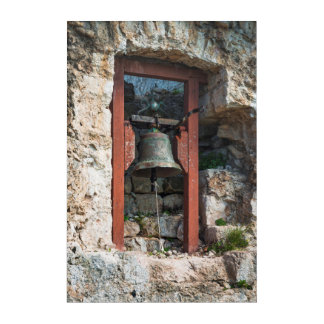 Art Mural En Acrylique Bell au fort de St Michael, Croatie