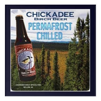 Art Mural En Acrylique Bière de bouleau de Chickadee