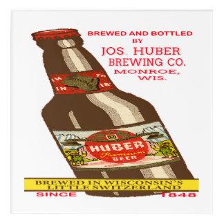 Art Mural En Acrylique Bière de Huber