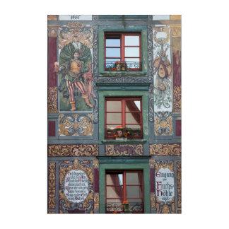 Art Mural En Acrylique Détail fleuri de fresque, Allemagne