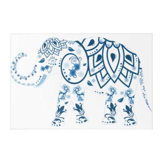 Art Mural En Acrylique Éléphant