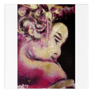 Art Mural En Acrylique Geisha de graffiti