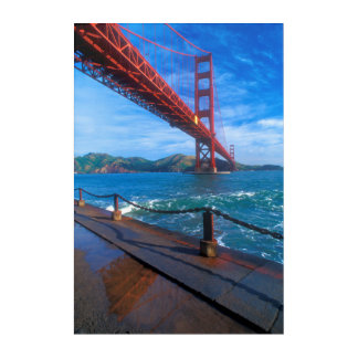 Art Mural En Acrylique Golden gate bridge, la Californie