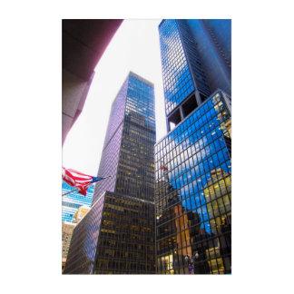 Art Mural En Acrylique Gratte-ciel NYC