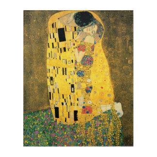 Art Mural En Acrylique GUSTAV KLIMT - Le baiser 1907