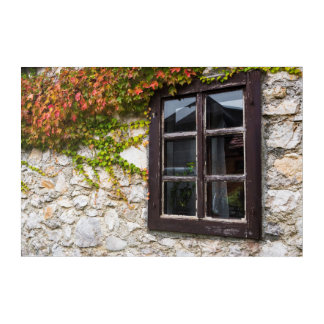Art Mural En Acrylique Lierre et fenêtre, Croatie
