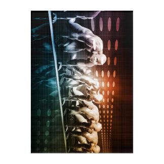 Art Mural En Acrylique Médias et réseau créatifs du contenu numérique