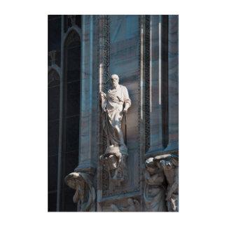 Art Mural En Acrylique Monument d'architecture de statue de dôme de