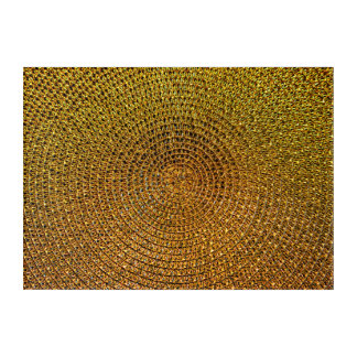 Art Mural En Acrylique Motif de spirale d'or