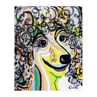 Art Mural En Acrylique Palette de couleurs en pastel molle de CANICHE
