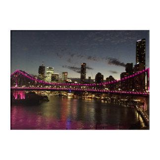 Art Mural En Acrylique Pont Brisbane Australie d'histoire