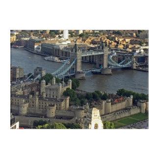Art Mural En Acrylique Pont de tour et tour de Londres