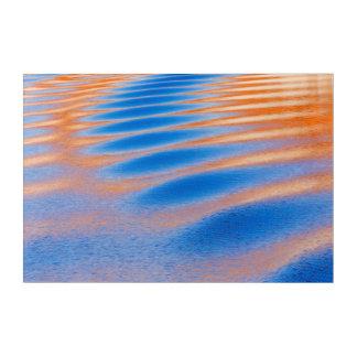 Art Mural En Acrylique Réflexion de falaise en canyon de gorge de Powell