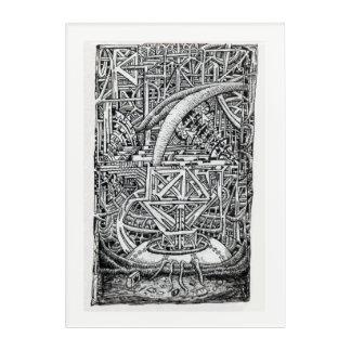 Art Mural En Acrylique Réservoir de tentacule par Brian Benson