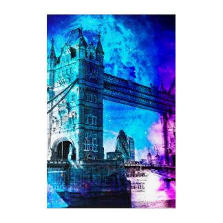 Art Mural En Acrylique Rêves de Londres du ciel de la création