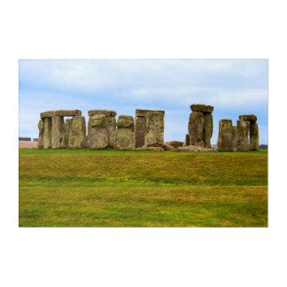 Art Mural En Acrylique Stonehenge pittoresque, Angleterre