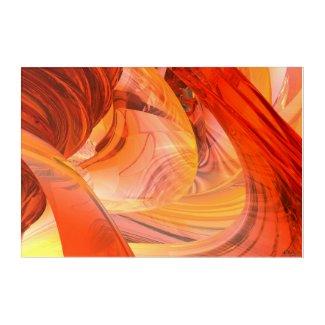 Art Mural En Acrylique Ufo Inside Tableau