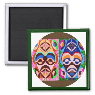 Art NOIR en couleurs Liberté d expression Magnets Pour Réfrigérateur