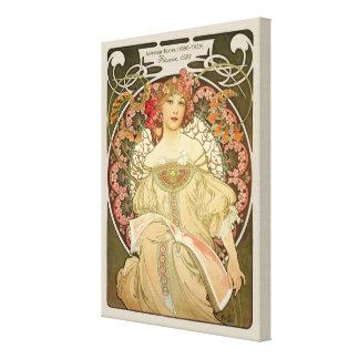 Art Nouveau de la rêverie CC0103 d'Alphonse Mucha Toiles