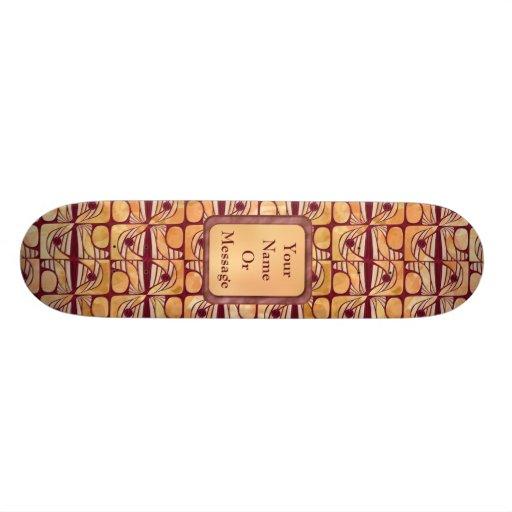Art Nouveau Skateboards Personnalisés
