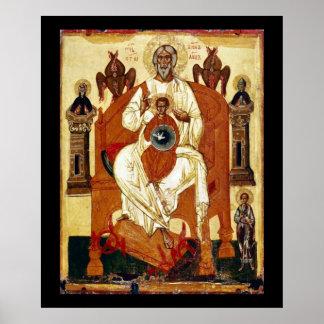 Art Nouveau toujours de Jésus de Russe Posters