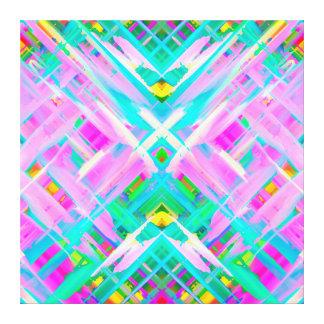 Art numérique coloré de toile éclaboussant G473