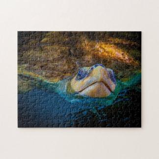 Art numérique de la tortue de mer 04 - puzzle de