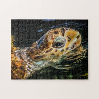 Art numérique de la tortue de mer 05 - puzzle de