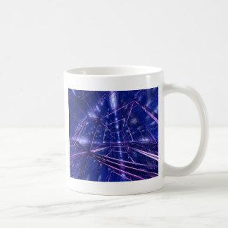 art numérique moderne contemporain cubé mug