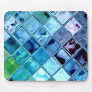 Art numérique Mousepad de mosaïque de tuile de col Tapis De Souris