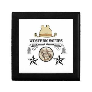 art occidental de valeur petite boîte à bijoux carrée