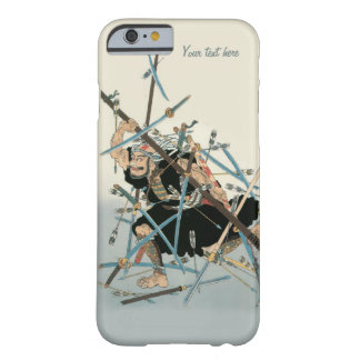 Art oriental 3 de guerrier samouraï coque iPhone 6 barely there