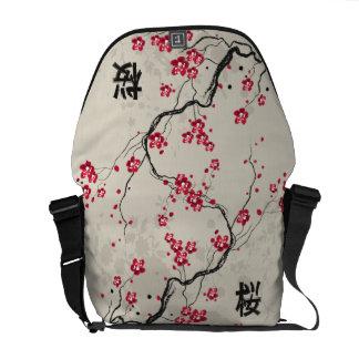 Art oriental de fleurs de cerisier de Sakura de Besaces