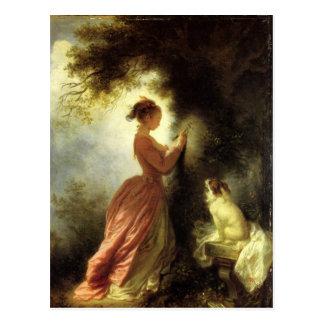 Art par la carte postale de Fragonard