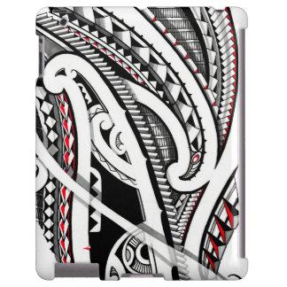 Art polynésien/maori tribal parfait de tatouage coque iPad
