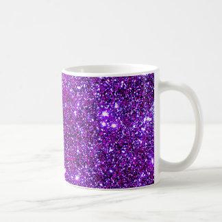 Art pourpre pourpre d'illusion optique d'étincelle mug