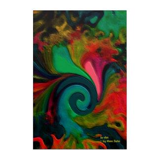 """Art """"préféré de mur d'acrylique du trou de"""