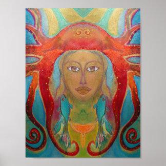 Art psychédélique - Psychedelic type d'affiche 60s Poster