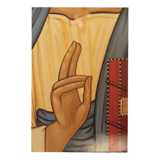 Art religieux de signal de main