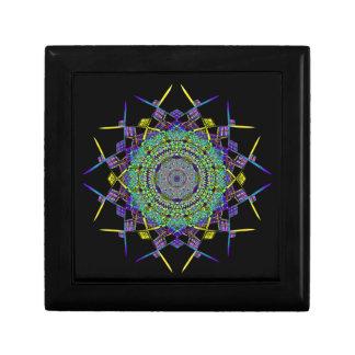 Art réutilisé de fumée (6) petite boîte à bijoux carrée