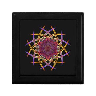 Art réutilisé de fumée (7) petite boîte à bijoux carrée