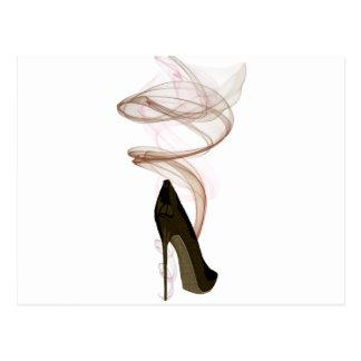 Art stylet de chaussure de Smokin Cartes Postales