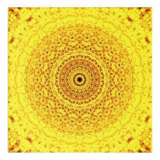 Art subtil jaune