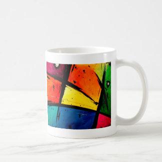 Art super abstrait primaire mug
