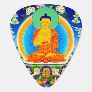 Art tibétain oriental frais de tatouage de Bhairav Onglet De Guitare