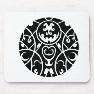 art tribal de cercle tapis de souris