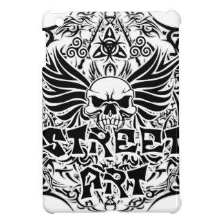 Art tribal de rue de tatouage étuis iPad mini