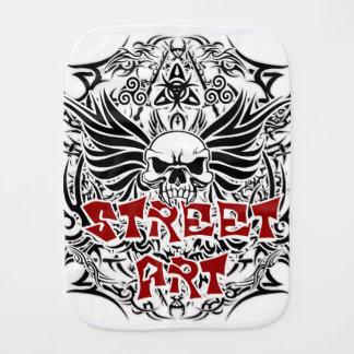 Art tribal de rue de tatouage linge de bébé