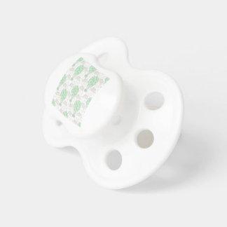 Art vert chaud de décor de crèche de ballons à air sucette pour bébé